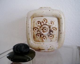 Vintage mid century modern retro danish modern Ikebana ceramic vase by UCTCI Japan