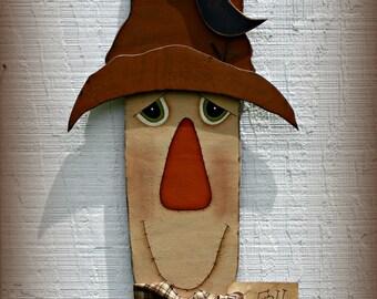 Scarecrow Wall Hanging ~ Scarecrow Door Hanger ~ Fall Wall Hanging ~ Fall Decor ~ Autumn Decor ~ Fall Door Hanger ~ Fall Door Decor