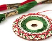 Christmas Ornament Kit, String Art Ornament, DIY Craft Kit