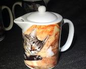 Best Friends Cat Teapot