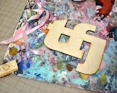 BeArtXi Wooden TFJ IttXi Letters.