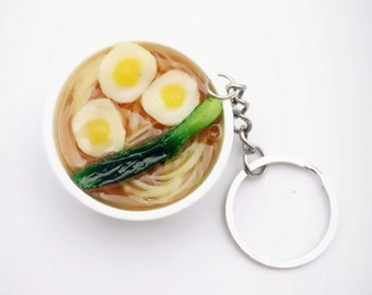 Eggs Noodles Keychain