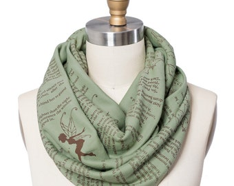 Peter Pan Book Scarf