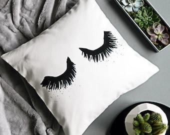 Upper East Eyelash cushion cover