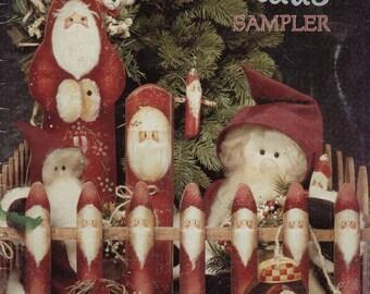 Santa Claus Sampler by Elaine Thompson--Decorative Painting