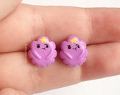 Adventure Time Lumpy Space Princess Inspired Earrings