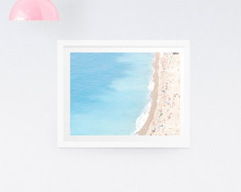 French Riviera Beach Photography Print - Nautical Photography Print - Beach photography