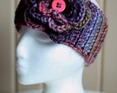 Thick, Chunky and Colourful Ear Warmer