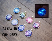 Glow in the Dark Galaxy Necklace / Choose Your Nebula