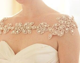 Rose gold bridal Etsy