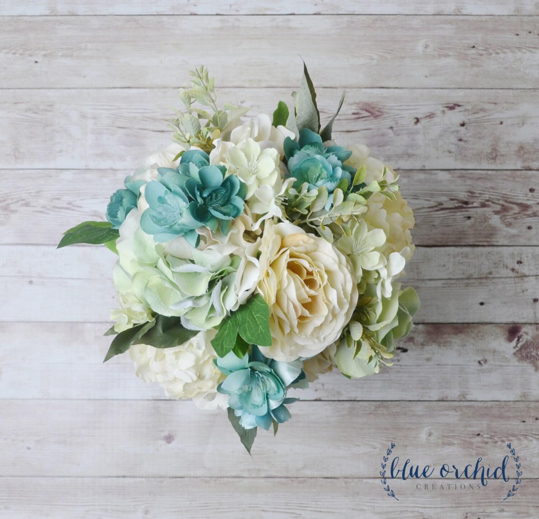 Silk Wedding Bouquet Silk Bouquet Silk Flowers Artificial