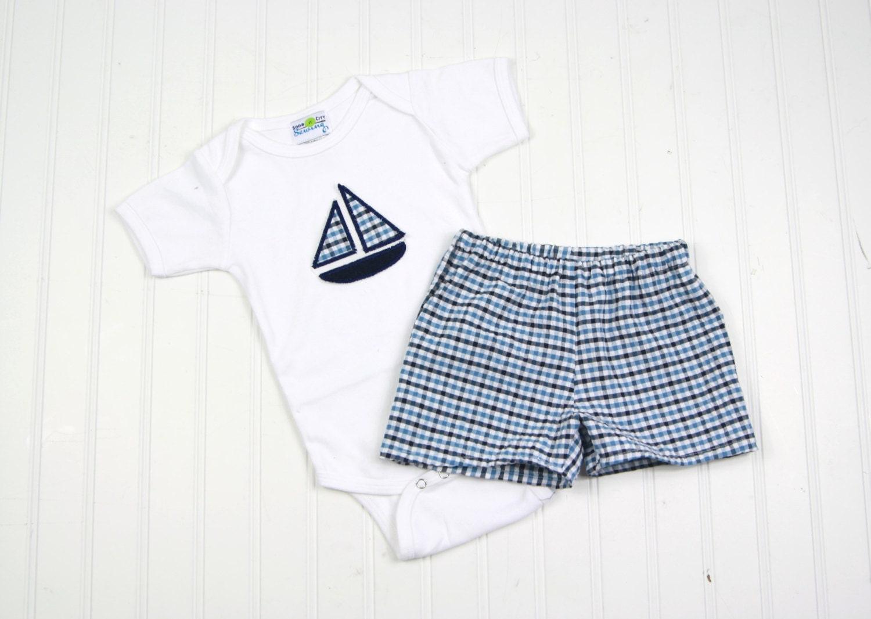 Sailboat Baby Clothes
