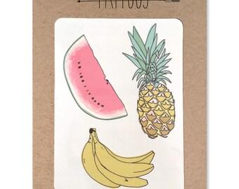 Fruit Temporary Tattoos