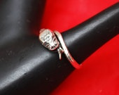 Silver Snake Cuff Ring size 9