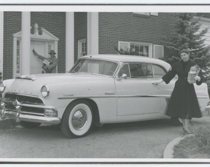 1954 Hudson Hornet Hollywood; Factory Photo Postcard [65458]