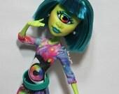 Custom Cyclops Monster Doll - OOAK High School Ghoul