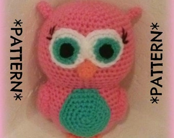PATTERN ONLY - Crochet Ollie the Owl