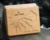 LAKE TAUPO River Map Fly ...