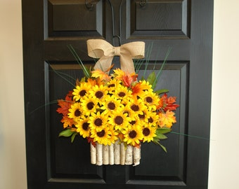 fall wreaths Thanksgiving wreaths for front door wreaths country decorations welcome rustic wedding front door wreaths