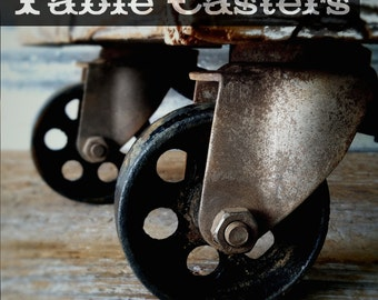 Industrial Casters, Furniture Casters Vintage Casters