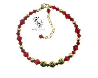 FSU Jewelry, FSU Bracelet, Florida State University, FSU Seminoles, Football Jewelry, Sports Jewelry, Football Bracelet, Sports Bracelet