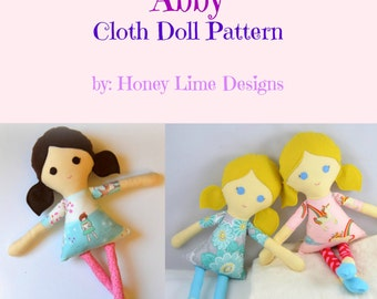 PATTERN - Abby Doll