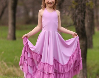 Dreamy Collection- Juliette Top, Dress & Maxi PDF Sewing Pattern 1/2- 14