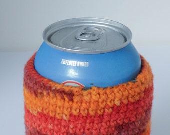 Yarn-bombed Beverage Insulator