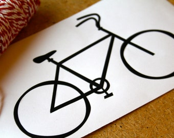 Bicycle Decal, Bicycle Vinyl, Laptop Decal, Laptop Vinyl, Car Decal, Window Decal, Window Vinyl,  Christmas Gift