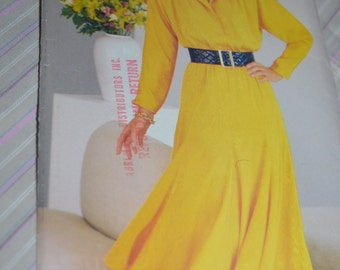 See & Sew 5539  Misses Dress Sewing Pattern - UNCUT - Sizes 14 16 18