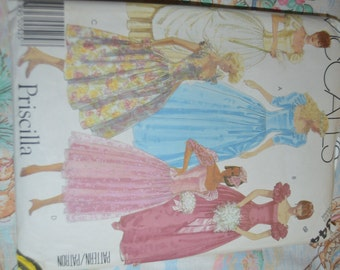 McCalls 2344 Misses Gown or Dress Sewing Pattern   - UNCUT  - Size 8 -