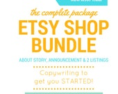 Etsy Relevancy – Etsy Keywords – NEW SHOP Help - About Page, Announcement + 2 Listings - Title Help,  Keyword Help, Tag Help, SEO Help