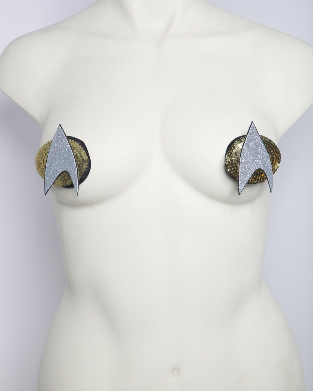 Star Trek Bathroom Accessories Star Trek Communicator Pasties