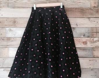 Vintage 1950s Full Circle Skirt
