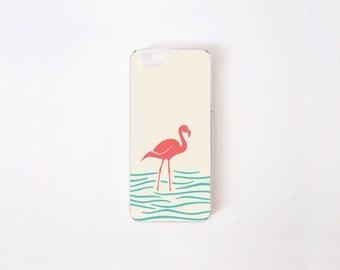 iPhone 5/5s Case - Flamingo iPhone Case - Floral iPhone Case - Flamingo - Flor de Chile Special Collection