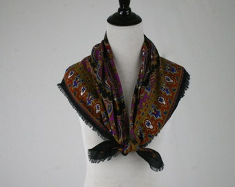Vintage Russian Style Scarf