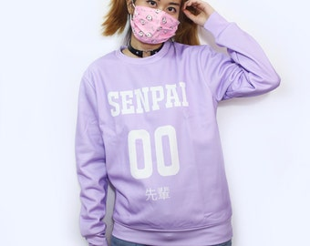 "Japanese Otaku Fashion T-shirt! ""Senpai 先輩"""