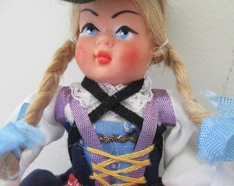 "Ethnic Doll , 8 ""tall"