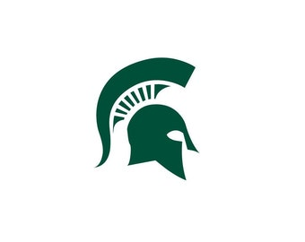 Michigan State Vinyl Decal