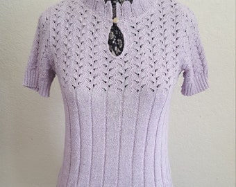 Lovely Lilac 70's Sweater
