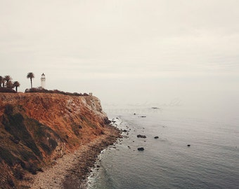 Point Vicente Lighthouse Photography, Palos Verdes, California Pacific Coast, ocean, Los Angeles, Beach, Boho, nature, Coastal Wall Decor,