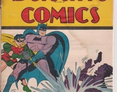 "1945 Detective Comics ""The Batman"" Special Edition U. S. Navy DC Superman Publication Artwork by Jack Burnley"