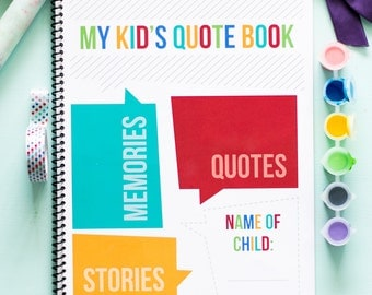 My Kid's Quote Book