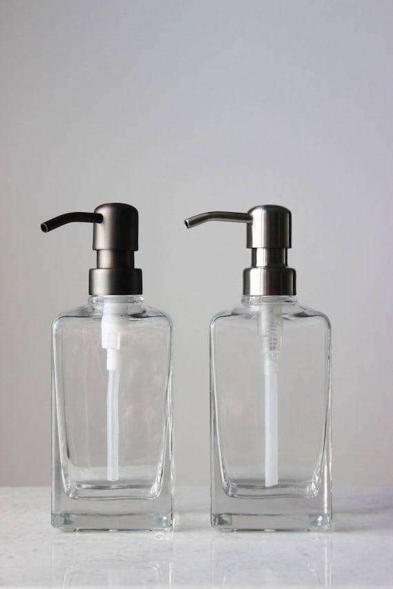 fr listing  distributeur de savon casa carre verre