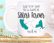 Sisters Mug - Sisters Gift - Sister Coffee Mug - Gift for Sister - Sister Birthday Gift - Sister Present - Sister Gifts - Gift for Women