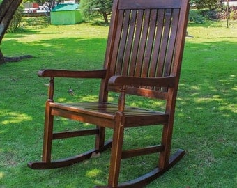 Porch Rocking Chair Traditional Style Free Shipping