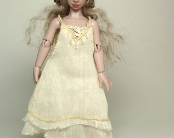 Preoder! Bjd doll Kitty for miniature dollhouses 1/12