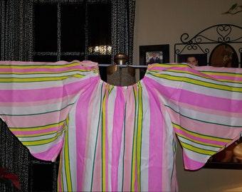 Brightly Striped Handmade Caftan