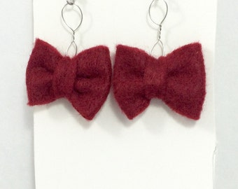 Doctor Who Bow Tie Earrings