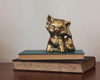 Brass Kitten / Cat